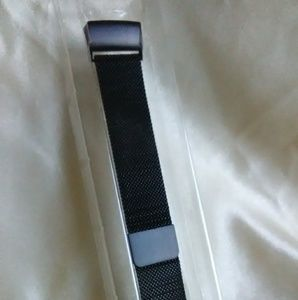 new Swees black band for fitbit charge 3